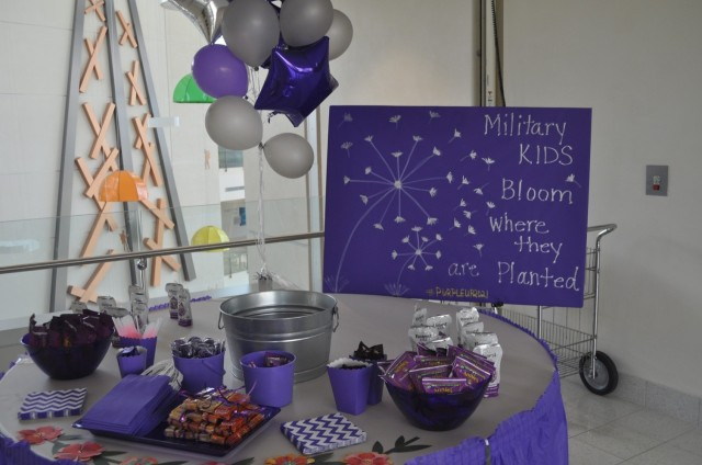 Martin Army Community Hospital celebrates Month of the Military Child.