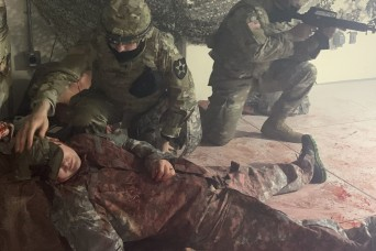 Eighth Army Religious Affairs Soldiers test their mettle, train hard during two-week course
