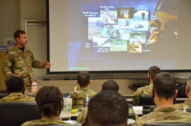 Site visit affords SOC Soldiers a look at Fort Leonard Wood CBRN training
