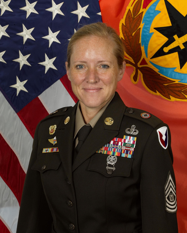 Command Sgt. Maj. Kristie Brady