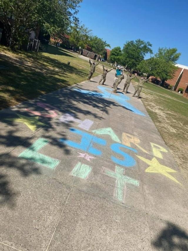 Chalk-walk 2