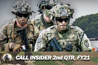 CALL Insider Newsletter 2nd QTR, FY21