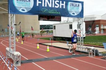 Kansas Guard Marathon Team competes at Lincoln