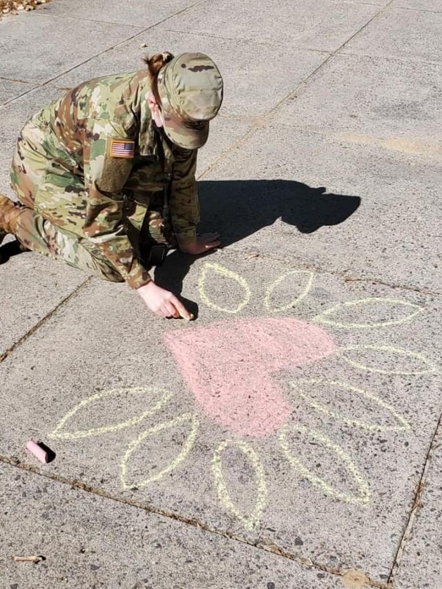 Chalk-walk