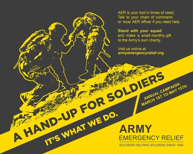 The Army Emergency Relief 2021 campaign has raised $26,759 of its $139,000. The campaign ends May 15.
