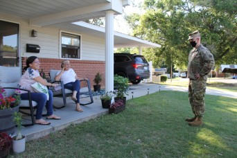 IN THE NEIGHBORHOOD -- USAACE, Fort Rucker leadership take town hall directly to residents' homes