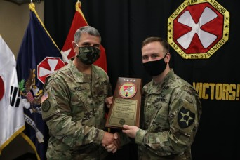 Eighth Army Soldiers, civilians recognized for excellence in sustainment