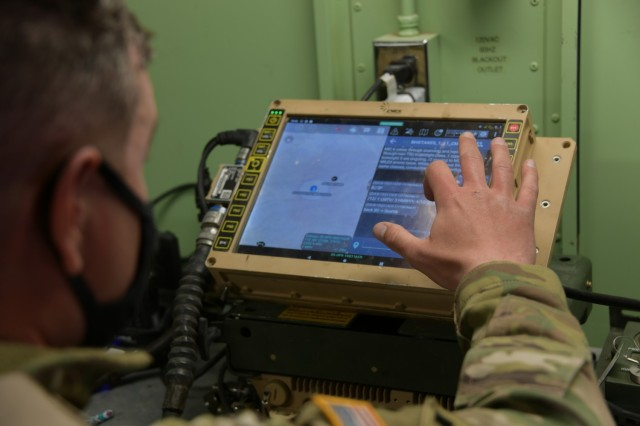 11th ACR putting next-gen Mounted Mission Command-Software to the test