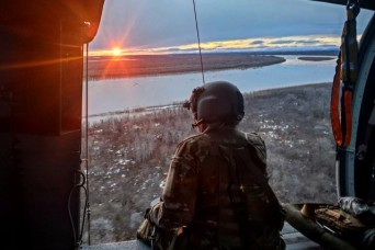 Alaska Army National Guard rescues four stranded boaters