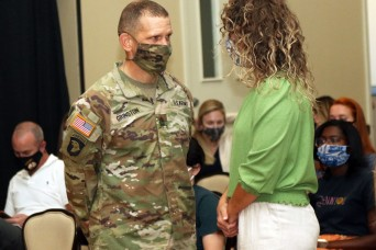 SMA visits Fort Bliss, listens to spouses