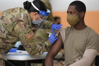 U.S. Army surpasses one million COVID vaccines administered at Medical Treatment Facilities