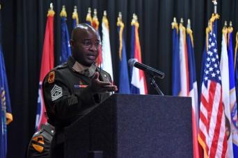 SMDC senior enlisted leader challenges new officers