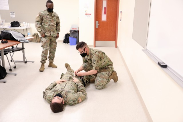 Tactical Combat Casualty Care Training