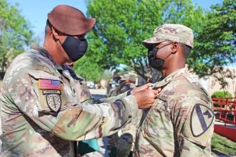 Giving back: 3rd SFAB troops honored for volunteer efforts