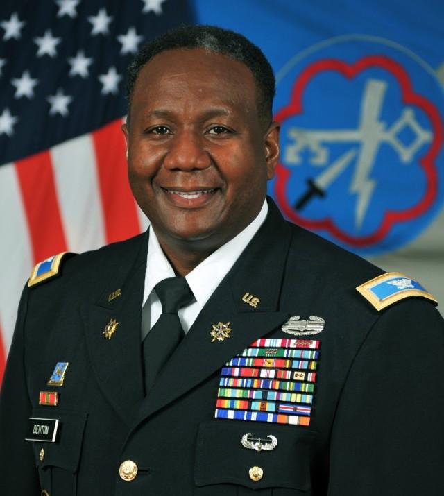 Col. Mark Denton takes Command