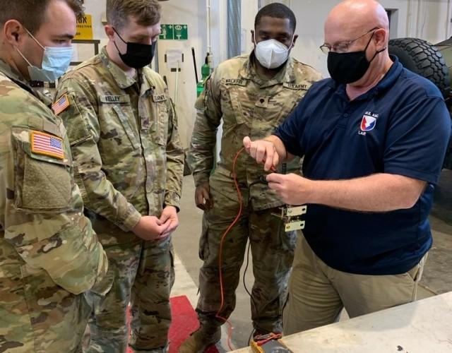 405th AFSB provides vital TACOM LAR support to keep vehicles, equipment operational