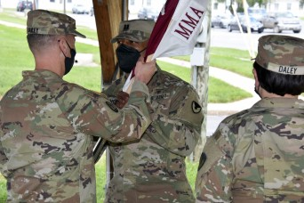 USAMMA hosts detachment change of command