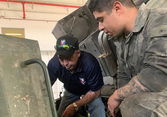 405th AFSB ground combat support LAR direct conduit between field units, TACOM