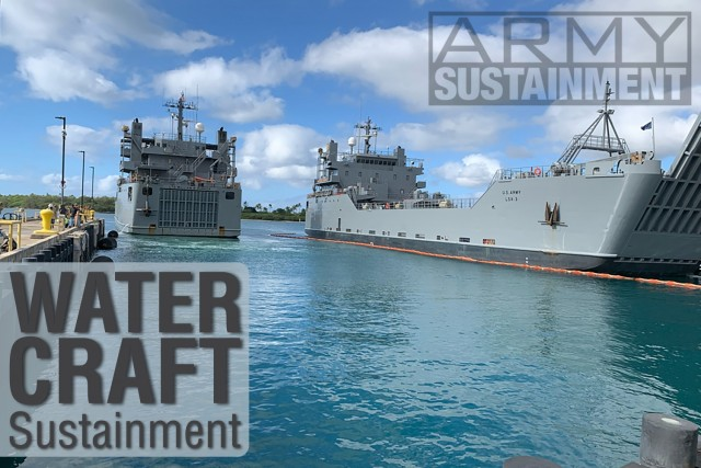 USAV LTG William B. Bunker (LSV-4) returning to dock at Joint Base Pearly Harbor- Hickam  after completing its Defender Pacific 2020 voyage at sea.