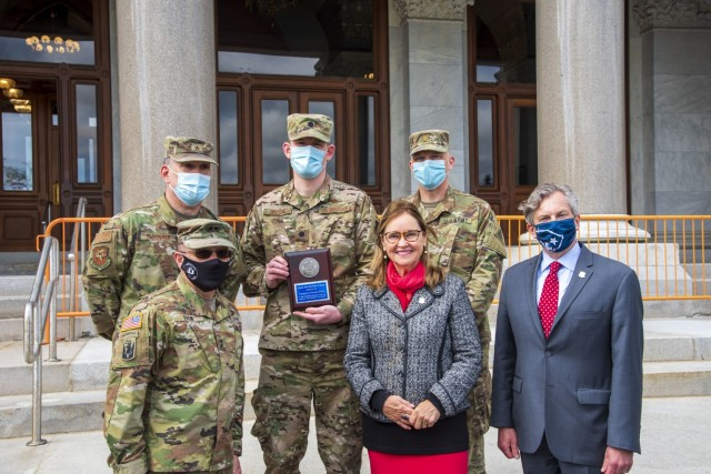 Connecticut Guard cyber team honored for outstanding service