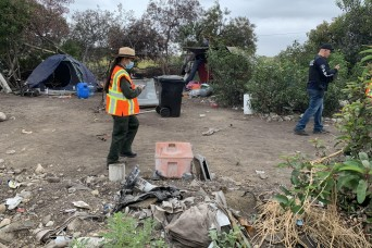 Corps removes about 250 tons of debris at Santa Fe Dam