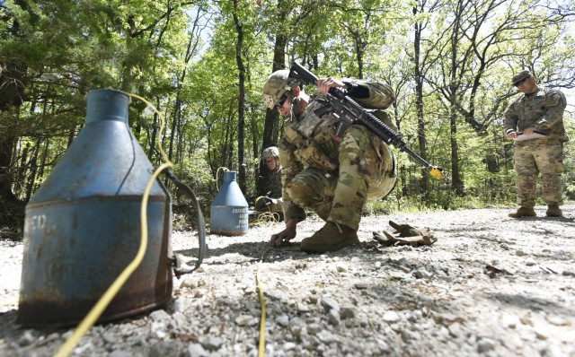 Combat Engineer Skills Division holds first permanent-party field-training exercise