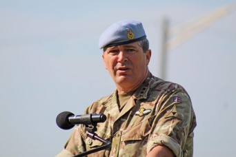 III Corps welcomes new British general, says farewell to another