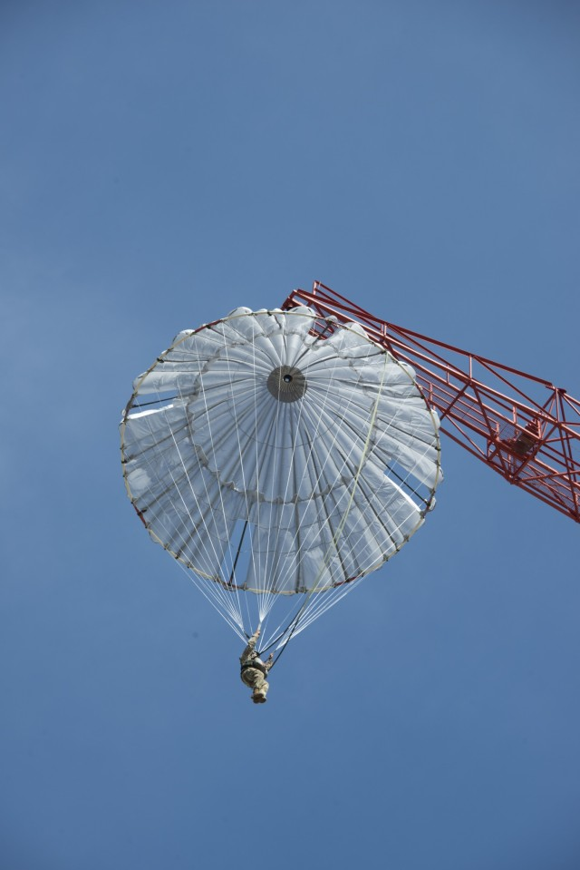 Army Airborne School replaces J-1 training parachute after testing new J-3 chute system