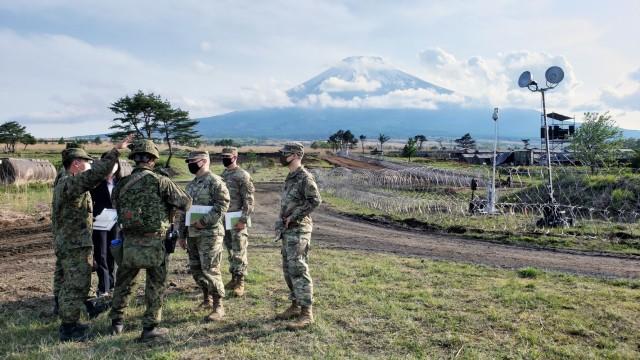 Building Friendships Under Fuji