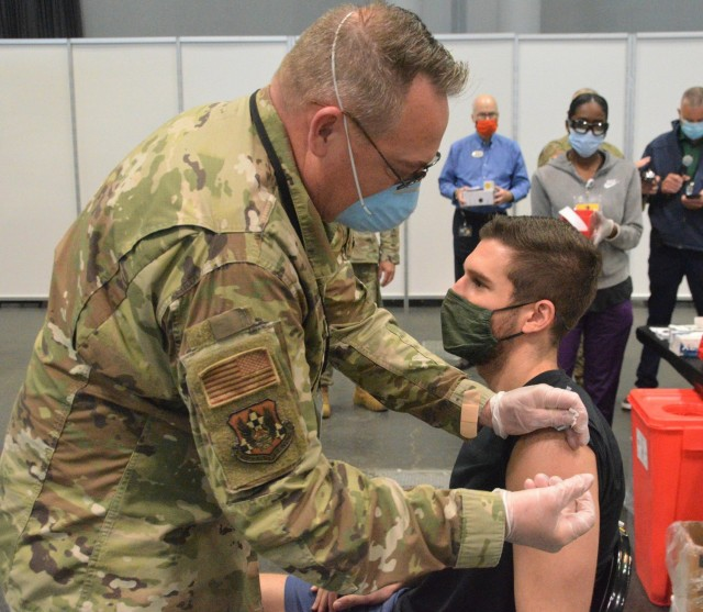 NY National Guard continues staffing COVID vaccination sites