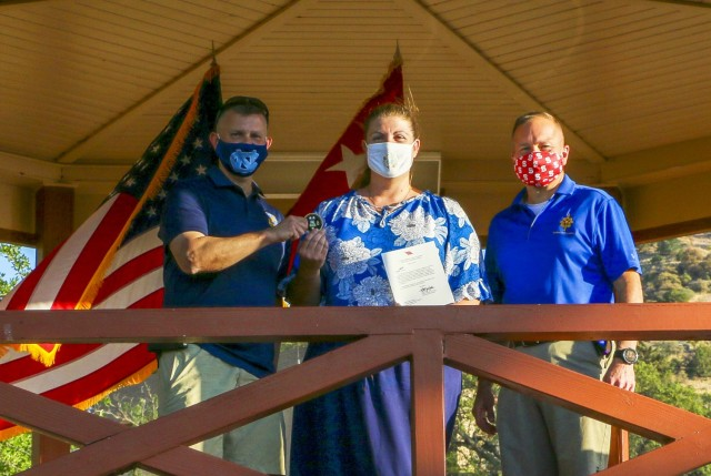 Installation's best recognized at awards barbecue