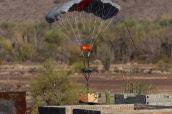 Airdrop technology demonstration wraps up at Army's Yuma Proving Ground