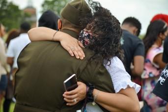 Fort Leonard Wood welcomes back loved ones for graduations