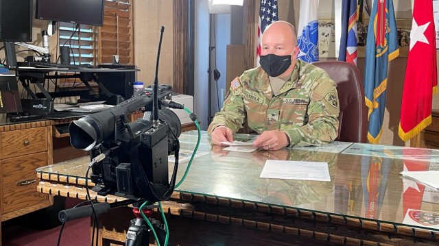 Former WSMR commander produces 170 COVID-19 video updates upon his departure