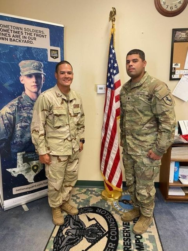 Fort Irwin soldiers are now friends headed back to their PR homes
