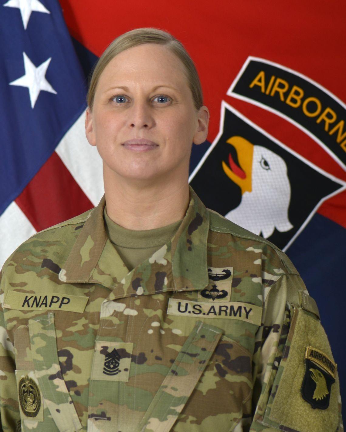 Command Sgt. Maj. Veronica Knapp