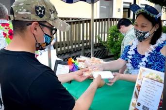 USAG Italy volunteer spreads Aloha Spirit