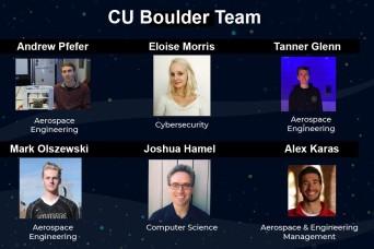 SMDC sponsors winning CU Boulder Designing for Defense team