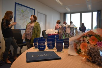 USAG Benelux highlights volunteers from past two years