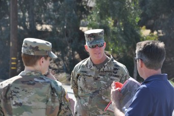 Corps general speaks at ceremony honoring project completion, tours other LA District project sites