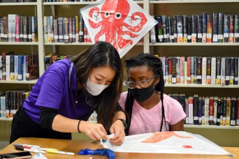 Camp Zama community learns about traditional Japanese kites