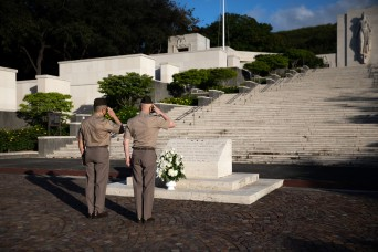 US Army Chief of Chaplains visits National Memorial Cemetery of the Pacific