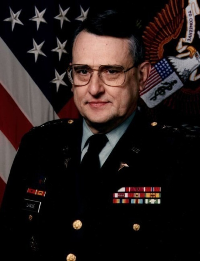 Lt. Gen. Alcide LaNoue served as the Army's 38th Surgeon General and is remembered as being a strong visionary.
