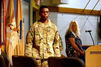 Jones becomes 16th Chief Warrant Officer of QM Corps