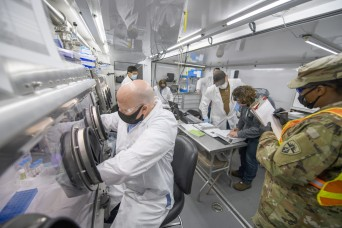 Mobile chemical laboratory test plays key role in Army modernization