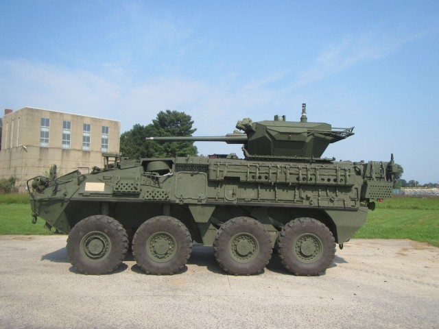 Stryker MCWS Side View