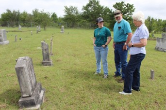 Legacy cemeteries: Hundreds gather at Fort Hood gravesites