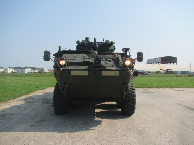 Stryker MCWS Front View