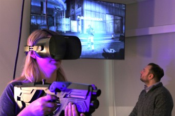 Army leverages virtual reality to understand network influence