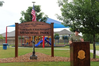 Texas park named for two First Team fallen aviators